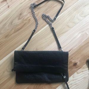 Stella & Dot genuine leather Waverly 3 way bag